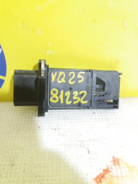 Датчик расхода воздуха Infiniti Ex25 J50 Q25DE 2006