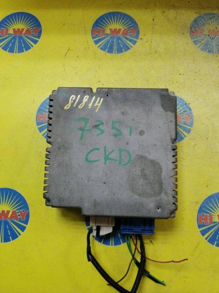 Блок управления Bmw 735I E65 N62B36 2001