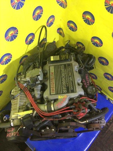 Двигатель Mmc Debonair S11A 6G71 1989