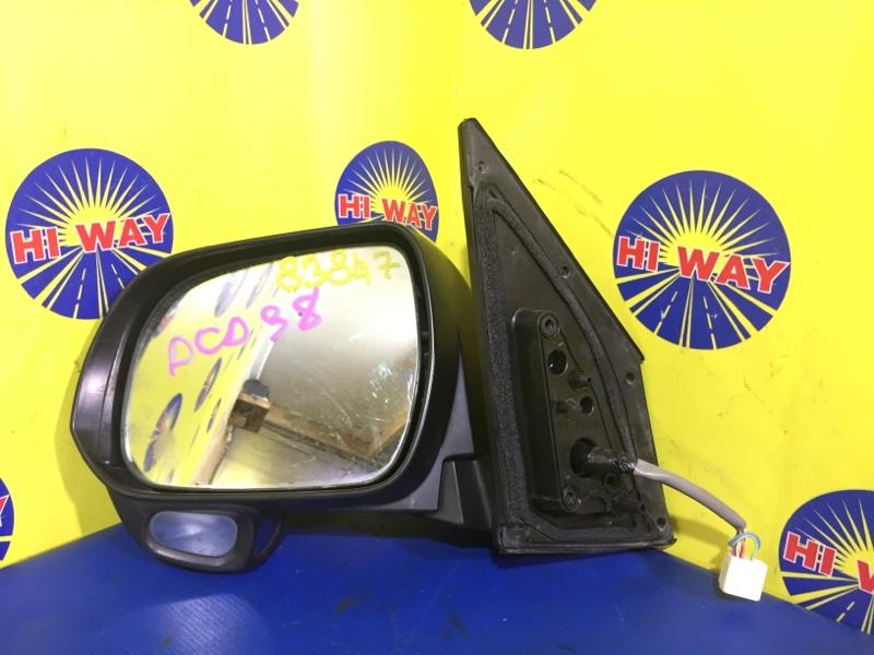 Зеркало боковое Toyota Vanguard ACA38W 2007 переднее левое