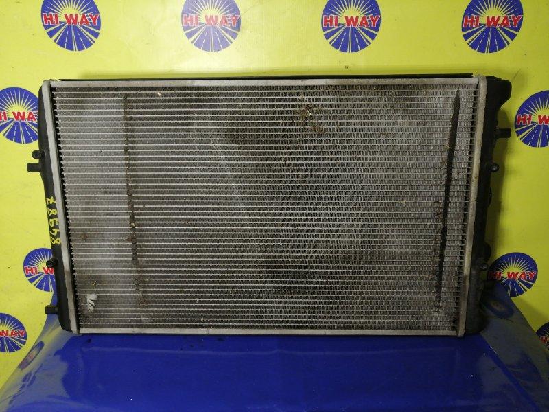 Радиатор двс Volkswagen Polo 9N1 BBY 2001