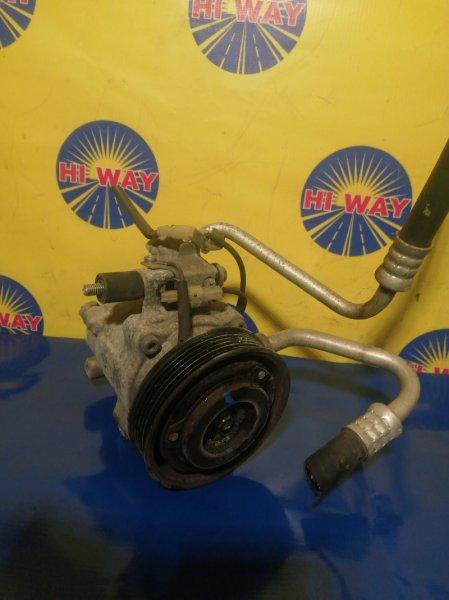 Компрессор кондиционера Toyota Passo KGC10 1KR-FE 2004