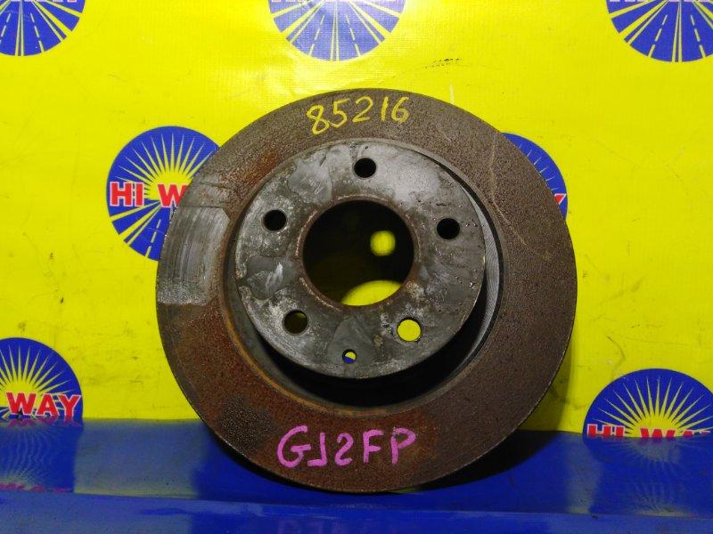 Диск тормозной Mazda Atenza GJ2FP 2012 задний