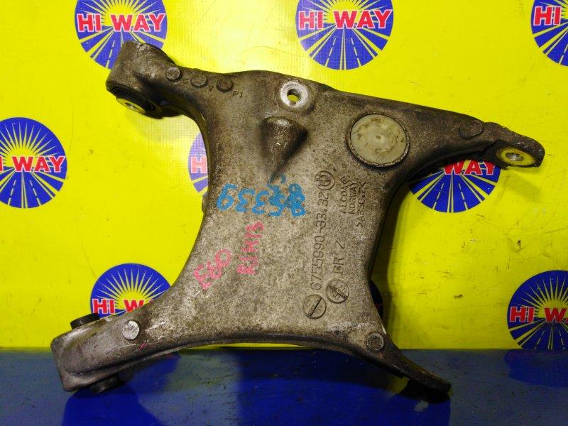 Рычаг подвески Bmw 525I E60 M52B25 2003 задний правый нижний