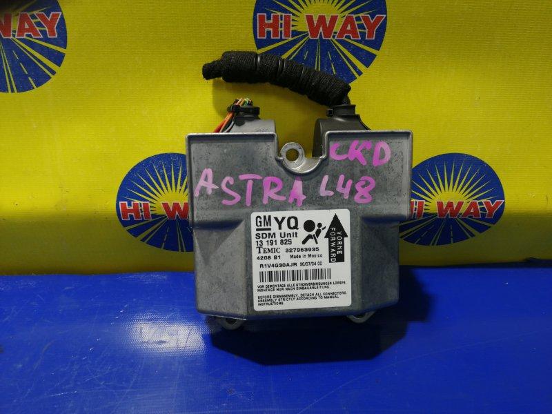 Блок управления airbag (компьютер) Opel Astra L48 Z16XEP 2004