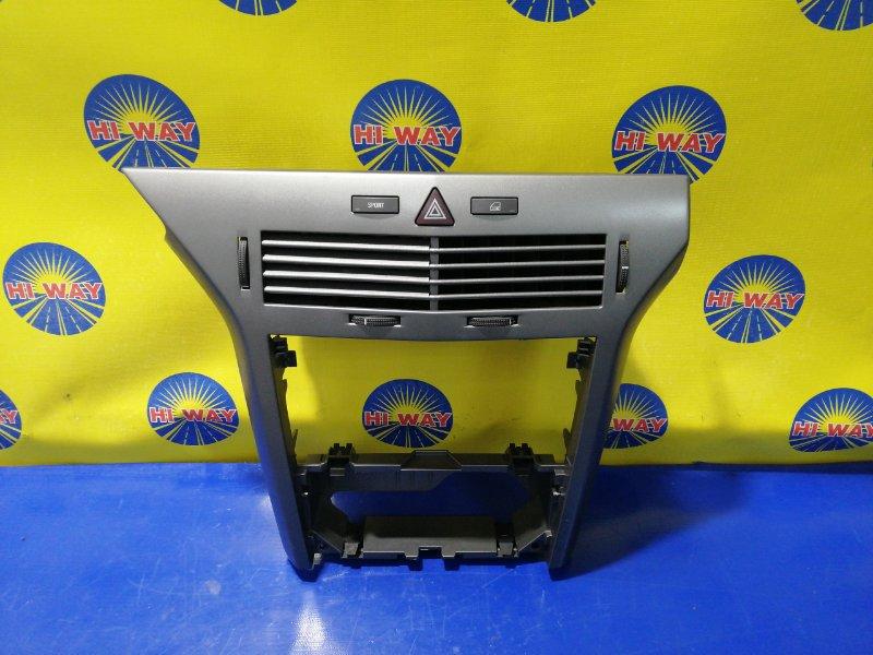 Консоль вокруг магнитолы Opel Astra L48 2004 передний
