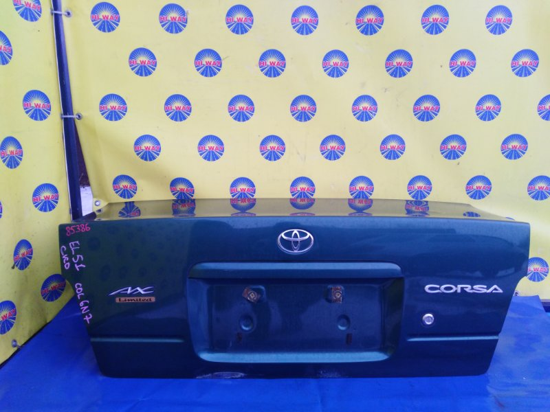 Крышка багажника Toyota Corsa EL51 1994 задняя