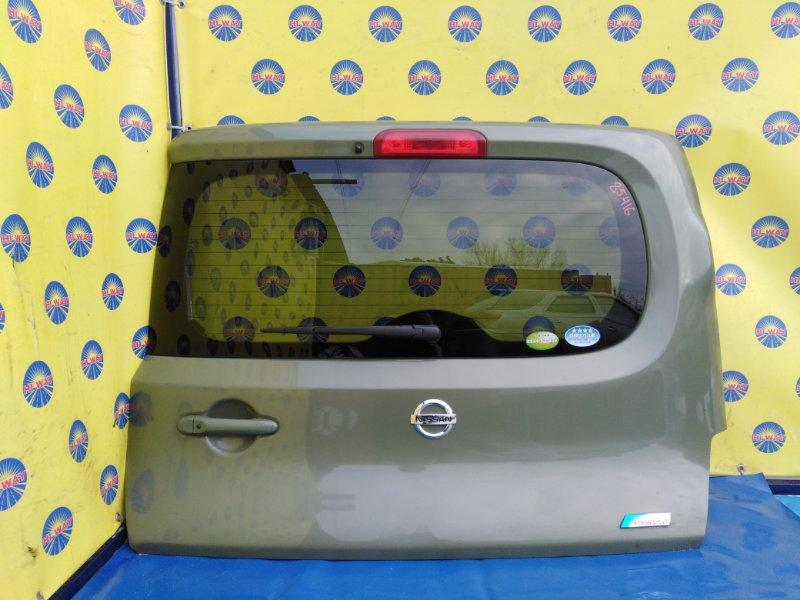Дверь задняя Nissan Cube Z12 2008 задняя