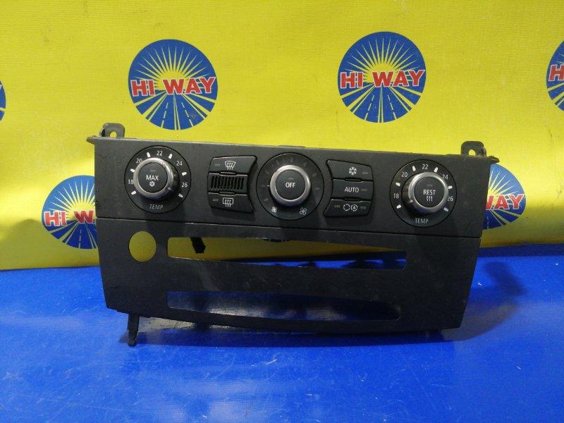 Блок управления климат-контролем Bmw 520I E64 M52