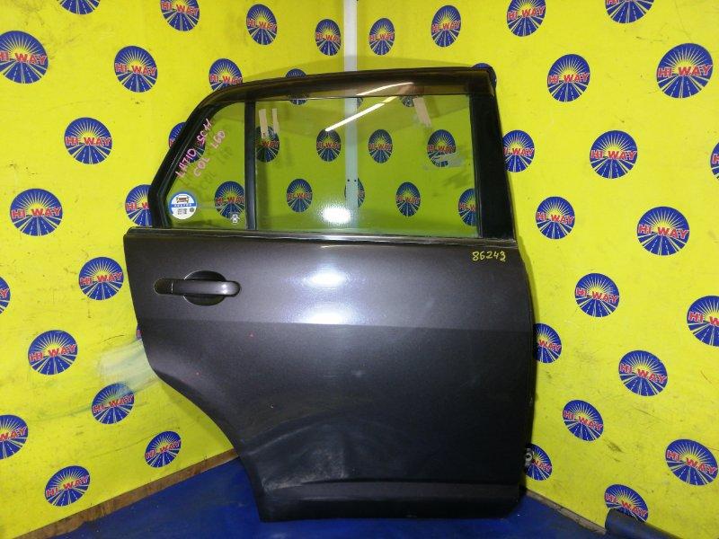 Дверь боковая Nissan Tiida Latio SC11 2004 задняя правая