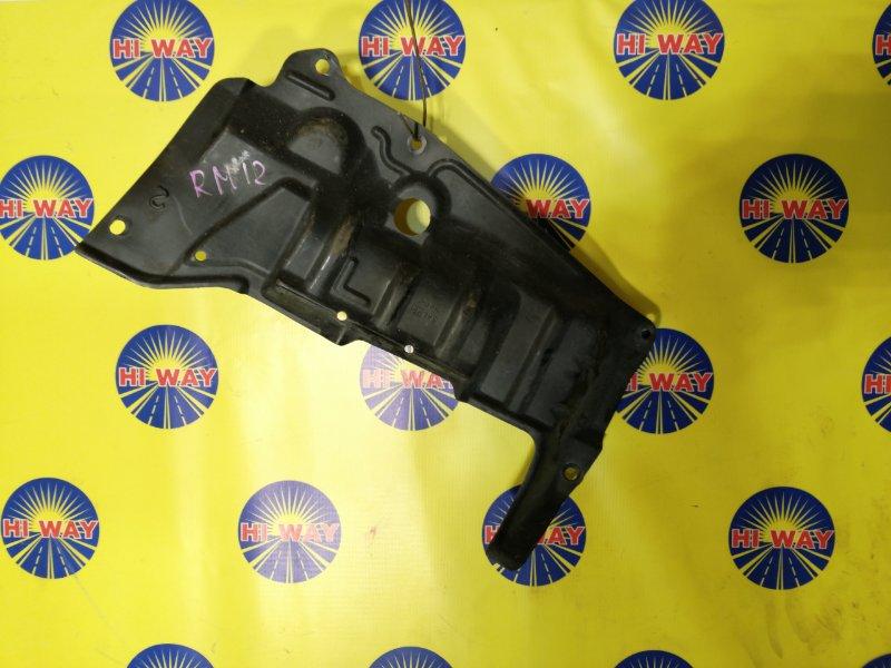 Защита двс Nissan Liberty RM12 QR20DE 2001 передняя левая