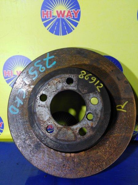 Диск тормозной Bmw 735I E65 2001 задний