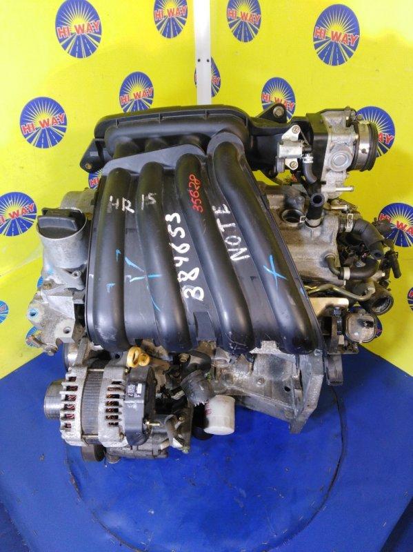 Двигатель Nissan Note E12 HR15DE 2004