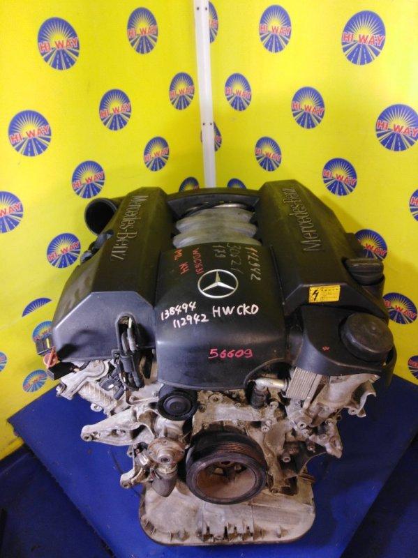 Двигатель Mercedes-Benz Ml320 W163 M112E32