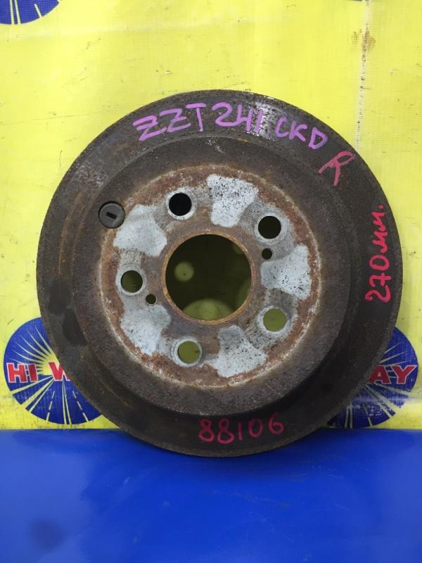 Диск тормозной Toyota Caldina AZT241 1AZ-FSE 2002 задний