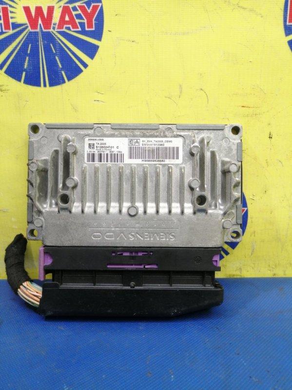 Блок управления двс,компьютер Peugeot 308Sw 4E EP6DT 2007