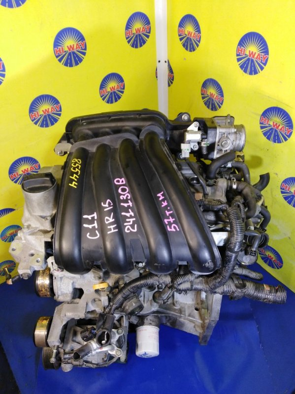 Двигатель Nissan Tiida C11 HR15DE 2004