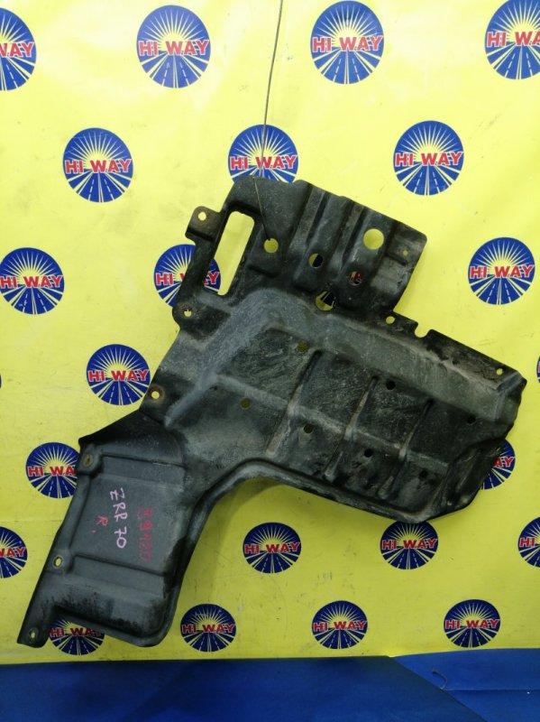 Защита двс Toyota Noah ZRR70 2007 передняя правая нижняя