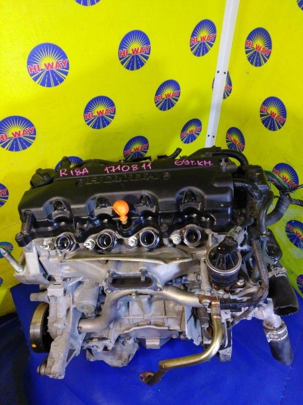 Двигатель Honda Stream RN6 R18A 2006