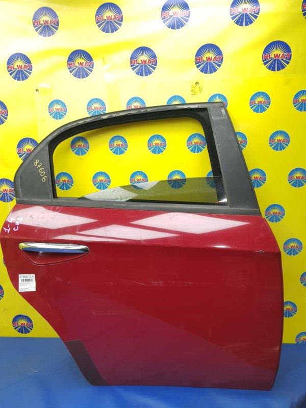 Дверь боковая Alfa Romeo 159 939 939 A5.000 2005 задняя правая