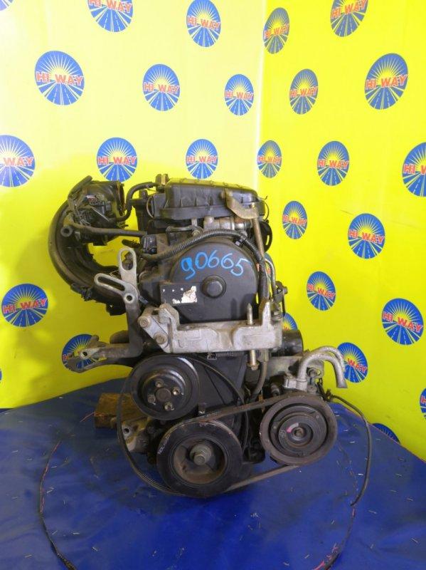 Двигатель Daihatsu Move L150S EF-VE 2002