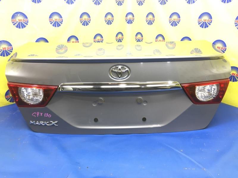 Крышка багажника Toyota Mark X GRX130 2009 задняя