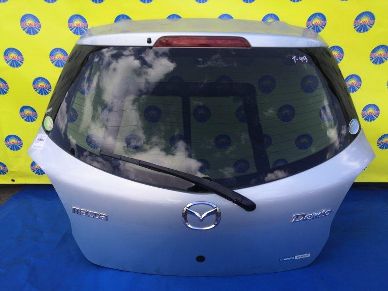Дверь задняя Mazda Demio DE3FS ZJ-VEM 2007 задняя