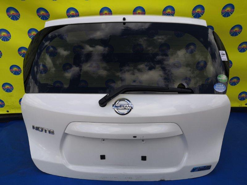 Дверь задняя Nissan Note E12 HR12DDR 2016 задняя
