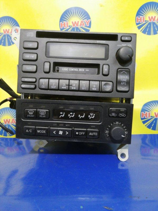 Блок управления климат-контролем Toyota Mark Ii GX100 1G-FE 1998