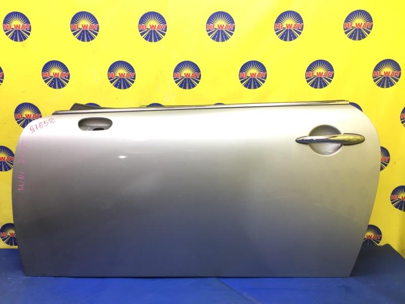 Дверь боковая Mini Cooper R50 W10B16A 2001 передняя левая