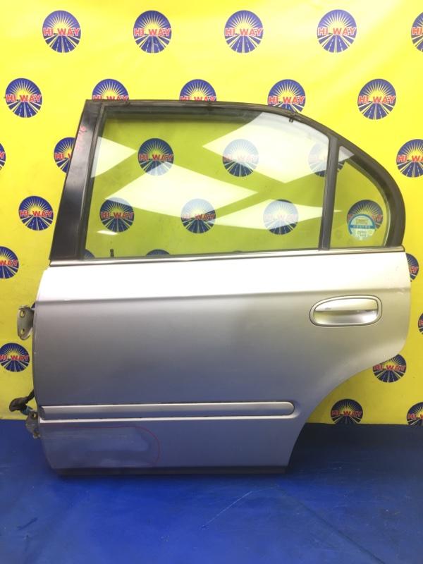 Дверь боковая Honda Domani MB3 1997 задняя левая