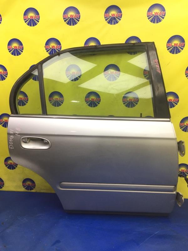 Дверь боковая Honda Domani MB3 1997 задняя правая