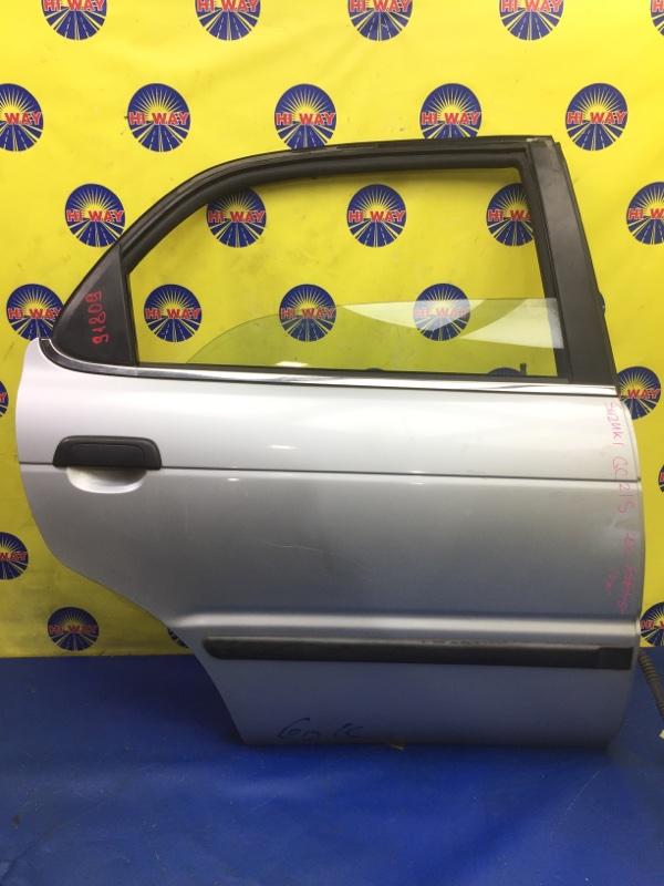 Дверь боковая Suzuki Cultus Crescent GC21S 1995 задняя правая