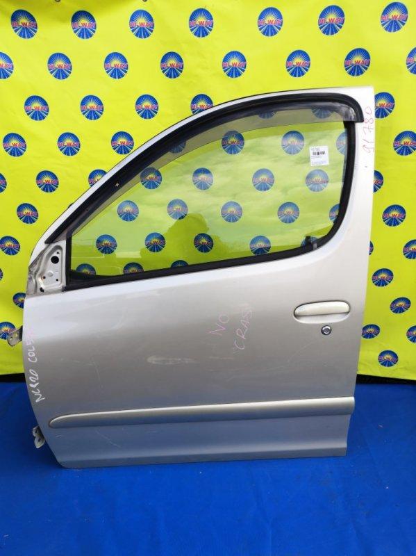 Дверь боковая Toyota Funcargo NCP20 2002 передняя левая