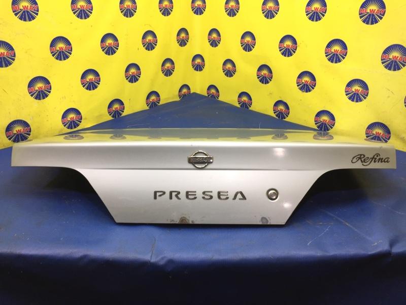 Крышка багажника Nissan Presea R11 GA15DE 1995 задняя