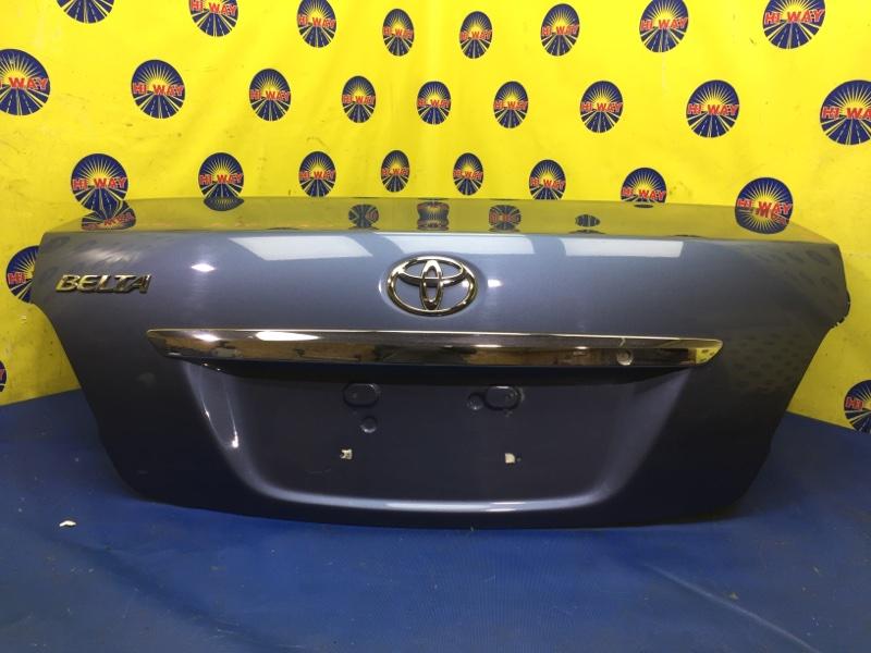 Крышка багажника Toyota Belta SCP92 2SZ-FE 2005 задняя