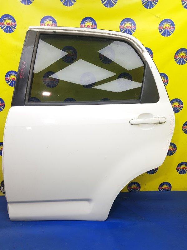 Дверь боковая Toyota Rush J210E 2006 задняя левая