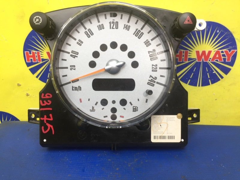 Комбинация приборов Mini Cooper R50 W10B16A 2001