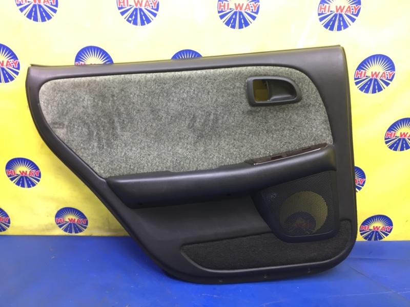 Обшивка двери Toyota Chaser X90 1992 задняя левая