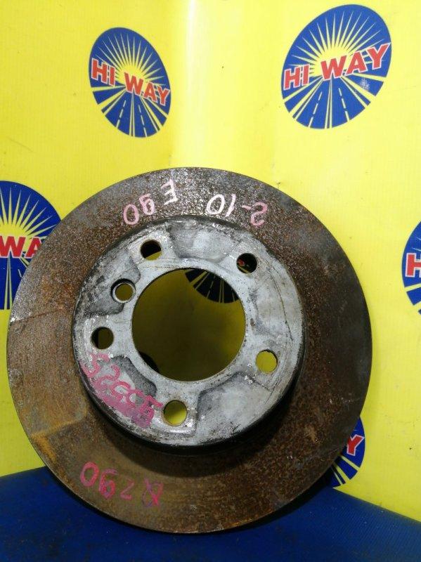Диск тормозной Bmw 320I E90 N46B20BA 2004 передний