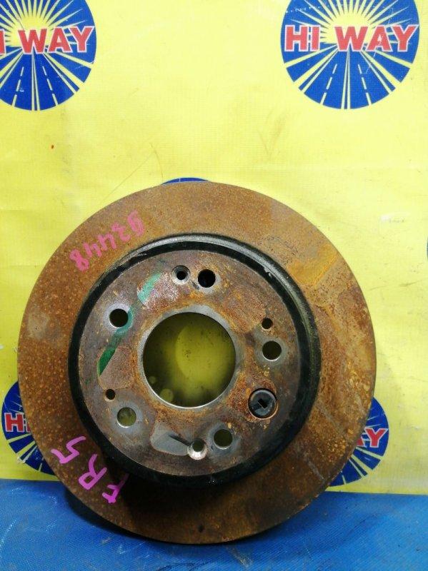 Диск тормозной Honda Jade FR4 2015 задний