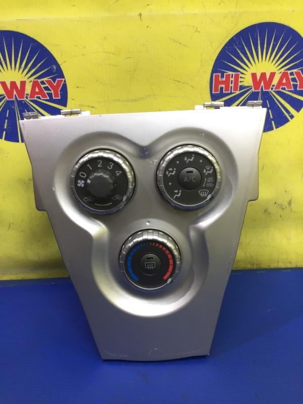 Блок управления климат-контролем Toyota Belta SCP92 2SZ-FE 2005