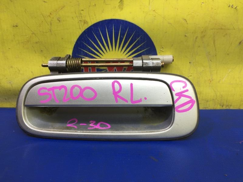 Ручка наружная Toyota Corona Exiv ST200 4S-FE 1995 задняя левая