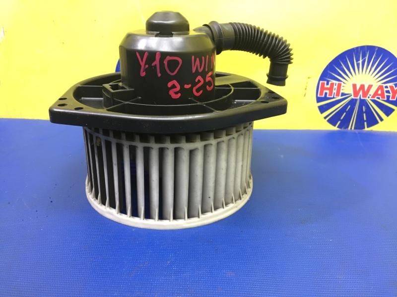 Моторчик печки Nissan Wingroad WFY10 GA15DE 1990