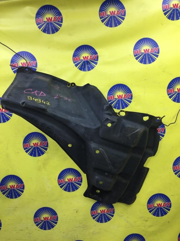 Защита двс Toyota Belta SCP92 2SZ-FE 2005 передняя правая