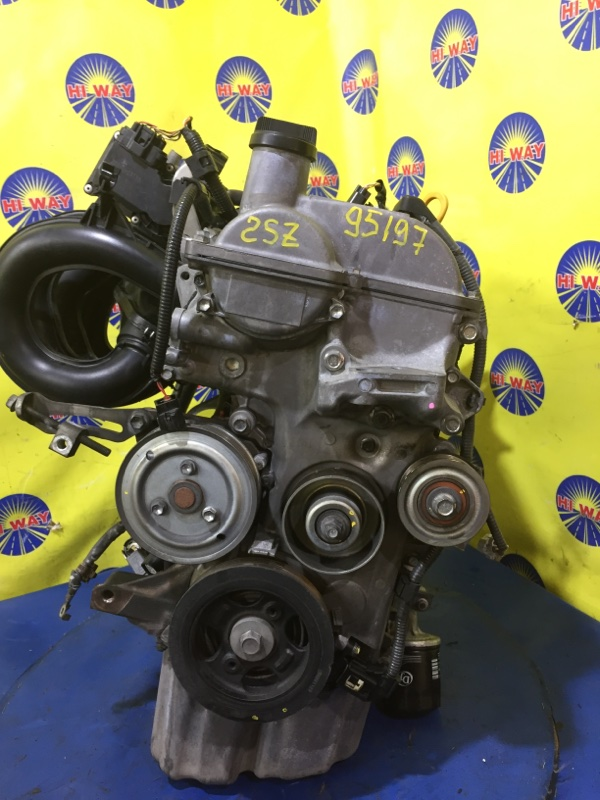 Двигатель Toyota Belta SCP92 2SZ-FE 2005