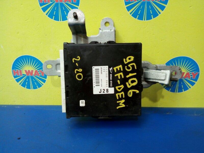 Блок управления двс Daihatsu Terios Kid J131G EF-DEM 2000