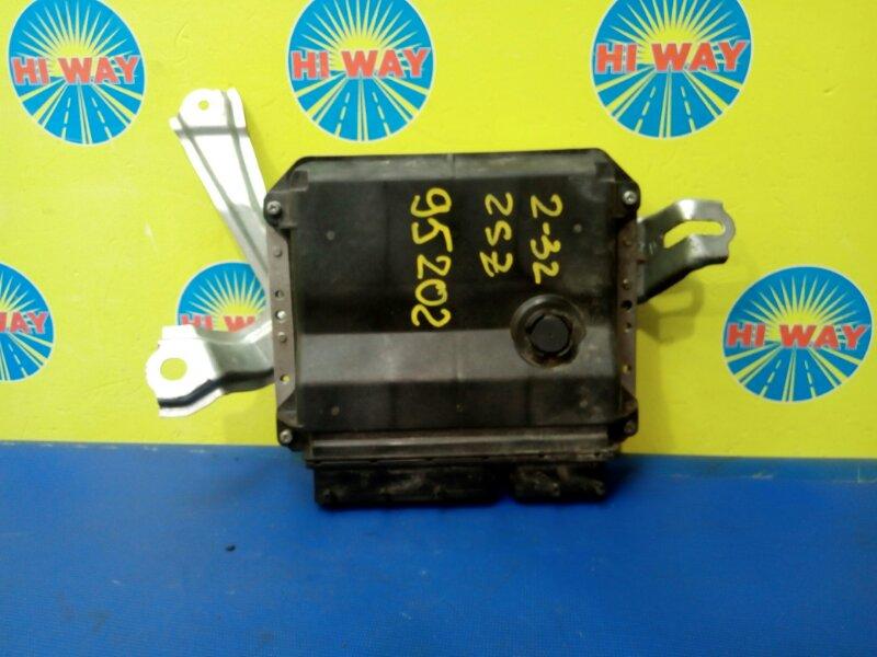 Блок управления двс Toyota Belta SCP92 2SZ-FE 2005