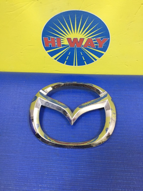 Эмблема Mazda Mpv LW3W 2002 задняя