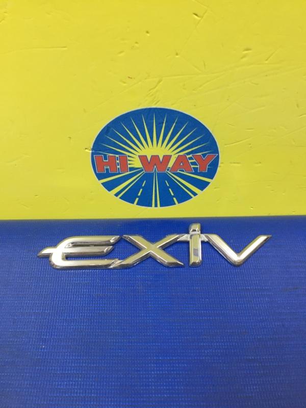 Эмблема Toyota Corona Exiv ST200 4S-FE 1995 задняя